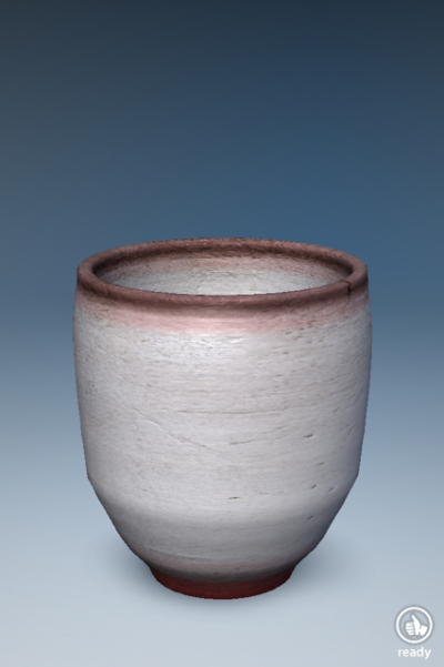 Virtual Ceramics redtop cup