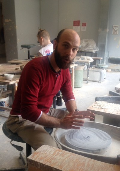Safety Induction for pottery wheel - 15th Aug 2015